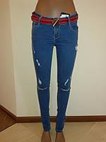 Рваные джинсы женские Woox 1447