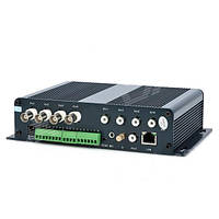 Видео-регистратор 4-CH DVS Сетевой видеосервер + SD слот ZEA5804D