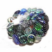 Камешки для аквариума Перламутр малый микс