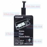 Универсальный приемник беспроводной зарядки Qi micro usb