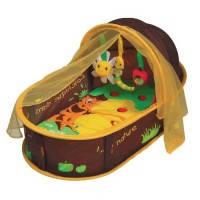 Переносной манеж-кровать  Шоколад, Ludi (2808)