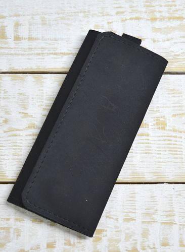Чудесная ключница из натуральной кожи GBAGS A.0004-CH черный