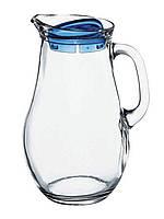 Кувшин стеклянный Jugs Bistro 1850мл с пластиковой крышкой