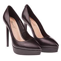 Элегантные женские туфли Brocoly 6705d-bz26114 (лабутен, кожаные, на каблуке)