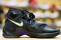 Nike LeBron 13 black purple