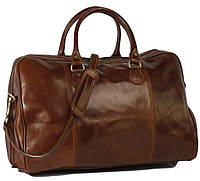 Дорожная сумка сделана в из натуральной кожи. 4040 коричневый
