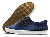Кеды мужские L&H джинсовые темно-синие
