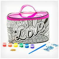 Косметичка-раскраска детская «Love» COC-01-04