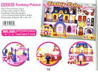 Игровой набор Замок: фигурки, лошадь, карета, мебель