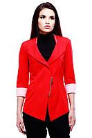 Женский пиджак красного цвета Астория  от производителя