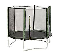 Батут с сеткой для детей Stoj, основа стальная, диаметр 2,44 м, высота сетки 1,72 м, нагрузка 100 кг