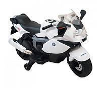 Электромотоцикл детский Alexis-Babymix Z283 white