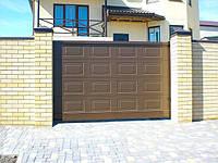 Ворота откатные алюминиевые