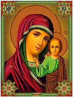 Схема для вышивания бисером Икона Божьей Матери Казанская КМИ 3025