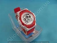 Детские часы Mingrui MR-8552095 (113910) красные с подсветкой число месяц день недели будильник секундомер