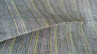 Ткань сорочечная чистольняная в полоску