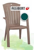 Пластиковый стул для сада Santorini, венгерского производства, 61*65*99 см