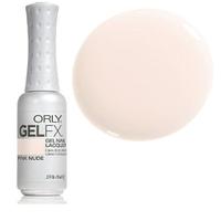 Гель-лак (полупрозрачный молочный с легкой розовинкой, для французского маникюра) , Gel FX Pink Nude 9 мл