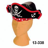 Шляпа Пиратская карнавальная, картон