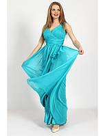 Вечернее платье из жатого шифона G0681 (р.42-46)