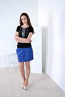 Женская стильная футболка вышиванка