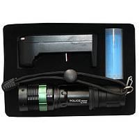 Фонарик аккумуляторный Police BL-8455 99000W линза Т6