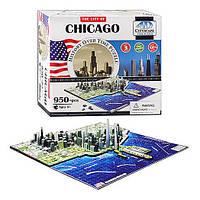 """Пазлы 4D """"Чикаго"""", 40014"""