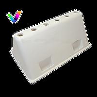 Оригинал. Ребро барабана на 6 отверстий для стиральной машины INDESIT, ARISTON код C00118022
