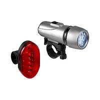 Велосипедный фонарь и задний стоп
