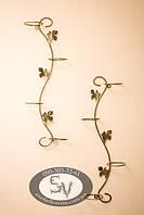 """Подставка для цветов """"Змея"""" на 4 кольца (вертикальный)"""