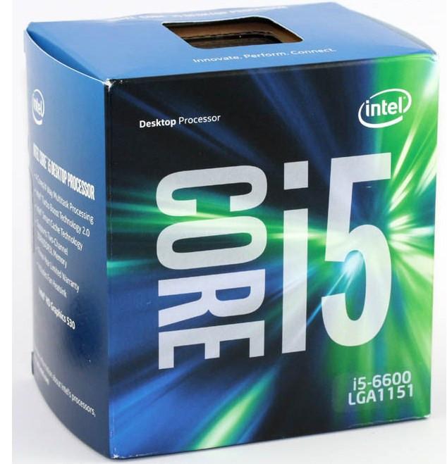 Intel Core i5 6600 3.3GHz (6mb, Skylake, 65W, S1151) Box (BX80662I56600)