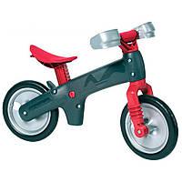 Детский беговел для мальчиков и девочек (Италия) Bellelli (серый с красным)