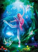 Пазл Ravensburger - Урок балета (с блестками ) 100
