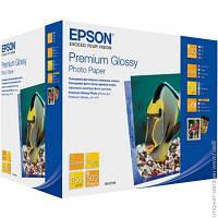 Бумага Epson 255 г/м.кв., 13x18 см, 500 л, фото, глянцевая (C13S042199)
