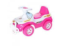 """Машинка для катания """"Джипик"""" Орион 105, розовая"""
