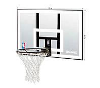 Щит баскетбольный Spalding NBA Combo 44 Acrylic