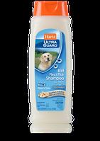 Хартс Ультра Гард Шампунь от блох и клещей  для собак с овсяным маслом и ароматом ванили
