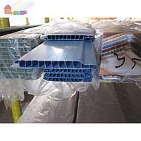 Вагонка пластиковая 100х10х6000мм (голубая)
