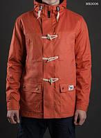 Весенняя парка мужская молодежная Staff cotton orange Art. NK0006