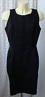 Платье черное офисное деловое Kiomi р.48 6607
