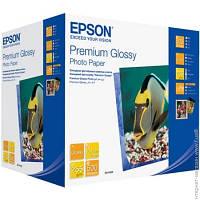 Бумага Epson 255 г/м.кв., 10x15 см, 500 л, фото, глянцевая (C13S041826)