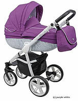 Универсальная коляска 2 в 1 Roan Bass B2 purple