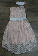 Кружевное платье для девочек 4- года