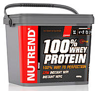 Сывороточный протеин Nutrend 100% Whey Protein 4500g