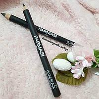 Мягкий карандаш для глаз Ultra Black Farmasi
