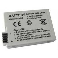 Аккумулятор для фотоаппаратов CANON 550D, 600D, 650D, 700D - LP-E8 (аналог) - 1120 ma