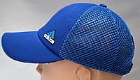 Бейсболка синего цвета Адидас