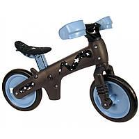 Детский беговел для мальчиков и девочек унисекс Bellelli (Италия) пластиковый (голубой с серым со звездами)