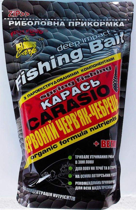 основы прикормки рыбы