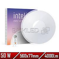 Светильник LED Intelite, 50 Вт, 3000-5600, Круглый